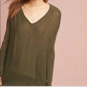 Anthropologie En Elly Green Knit Sweater